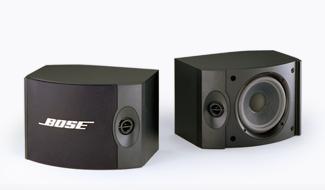 (BOSE) ブックシェルフスピーカー (2台1組) ブラック 301V/新品(北海道、沖縄、一部離島:要送料)