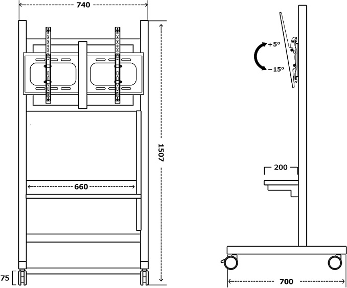 KTS-66T寸法図