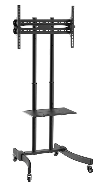 〔新品〕店舗/会議室ディスプレイ向け 37型~70型対応 角度調整式 液晶テレビスタンド 【T-1030T】大型商品
