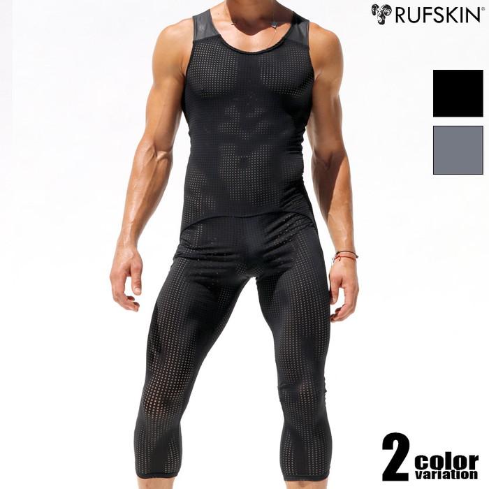 RUFSKIN(ラフスキン) MAGMA 上下一体型 メッシュスポーツウェア シングレット レスリングウェア型インナー 男性下着 メンズ パンツ ショルダーボクサーパンツ 上下一体型