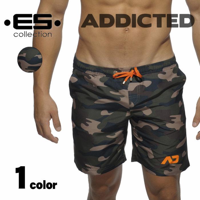 ADDICTED (jeweled) CAMOFLAGE SWIM LONGPANTS camouflage patterned Board  Shorts mens shorts-swimwear man of swimsuit surf pants swim beachwear  seawater shorts ... 6898cd730