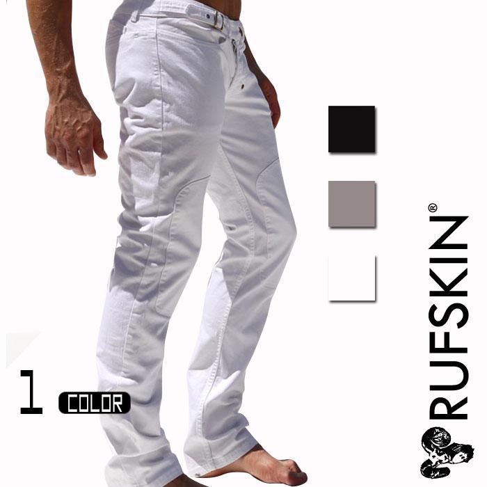 RufSkin (ラフスキン) BERM スリムストレートストレッチスラブジーンズ メンズ ジーンズ ジーパン ヴィンテージ風 デニムパンツ ジーンズパンツ コットンパンツ