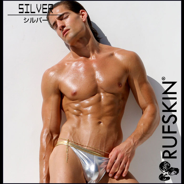 RufSkin (ravskin) MADRAGUE haicattolegg 比基尼泳装男装男人的泳装海水短裤树干闪亮 tekateka 金属华丽性感