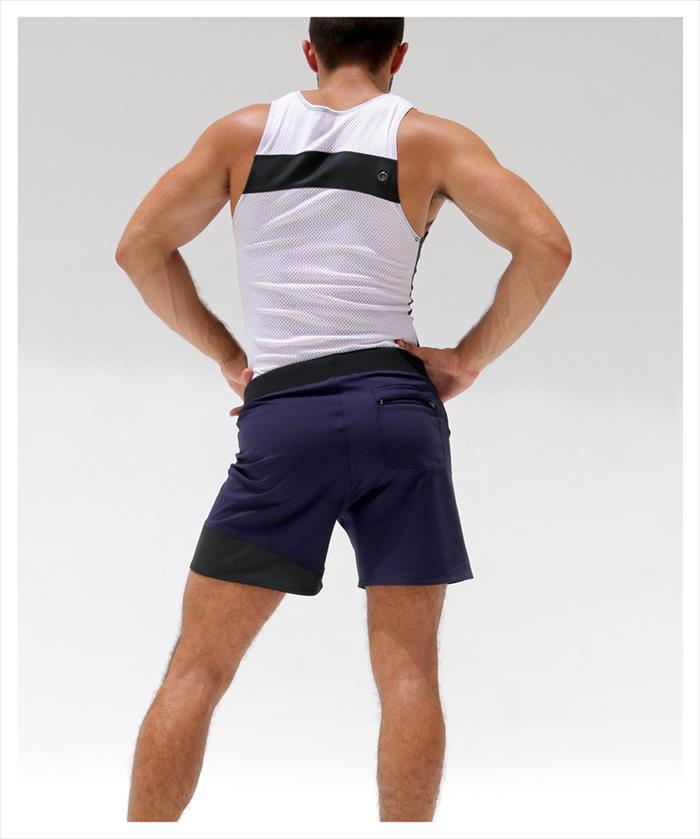 RufSkin (ravskin) EIGHT loose fit mens lederhosen moisture wicking stretch nylon sportswear simware short shorts sport