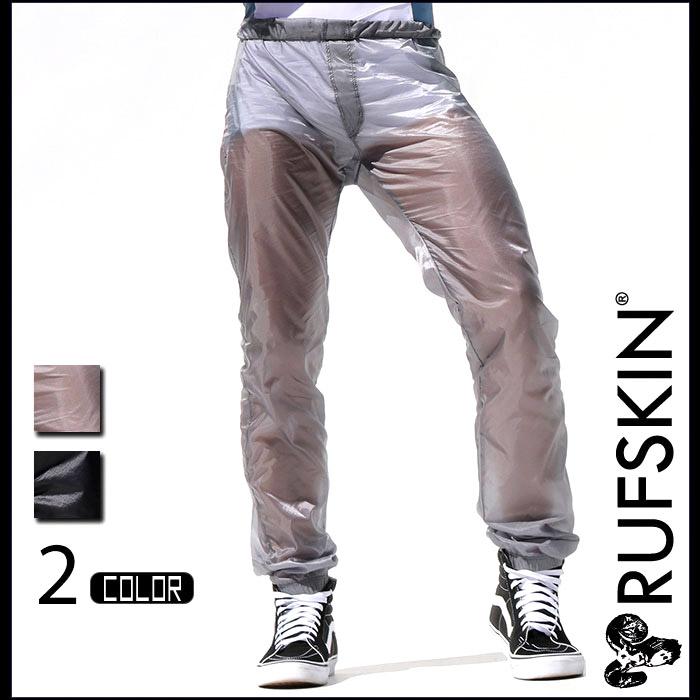 RUFSKIN(ラフスキン) ROLL DOWN スケルトンアスレチックパンツ ハイライズ ロングパンツ メンズ ボトムス ファッション スポーツウェア ジムウェア