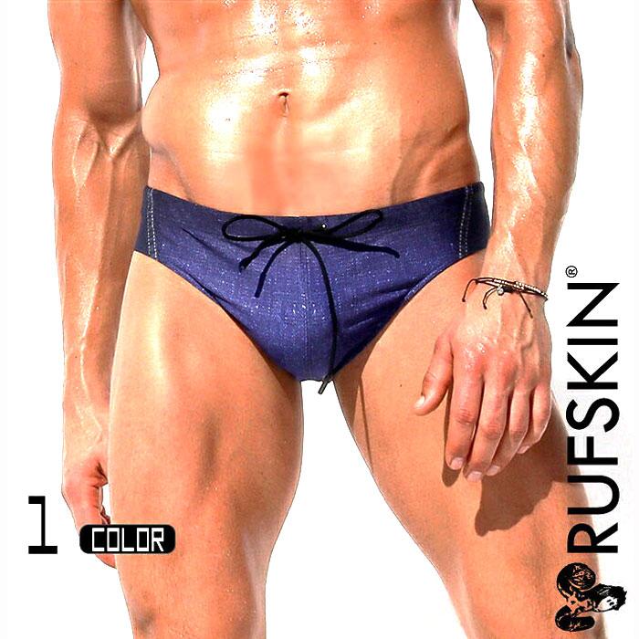 6dd78f0901 RufSkin (rough skin) INDIGO denim style bikini type swimwear halfback  swimwear bikini briefs type ...