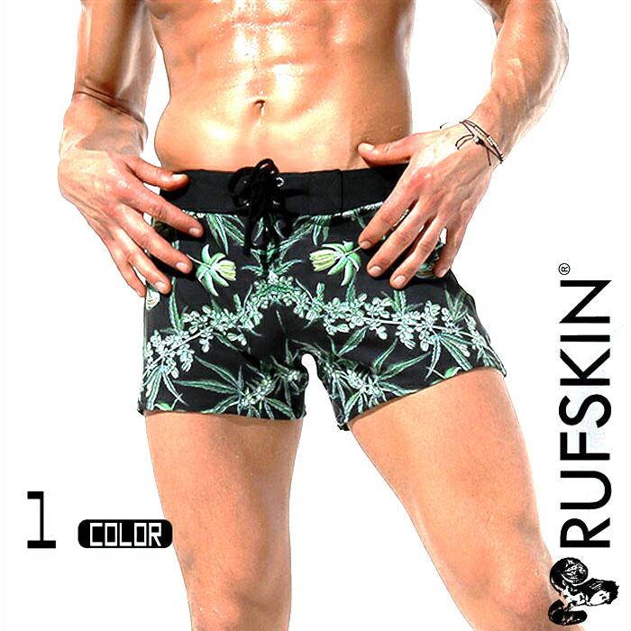 RufSkin (ラフスキン) MACO ボタニカル柄スイムウェア  スイムウェア サーフパンツ ボードショーツ メンズ水着 海水パンツ 海パン 男性水着 ビーチウェア 誕生日プレゼント 彼氏 父 男性 旦那 ギフト