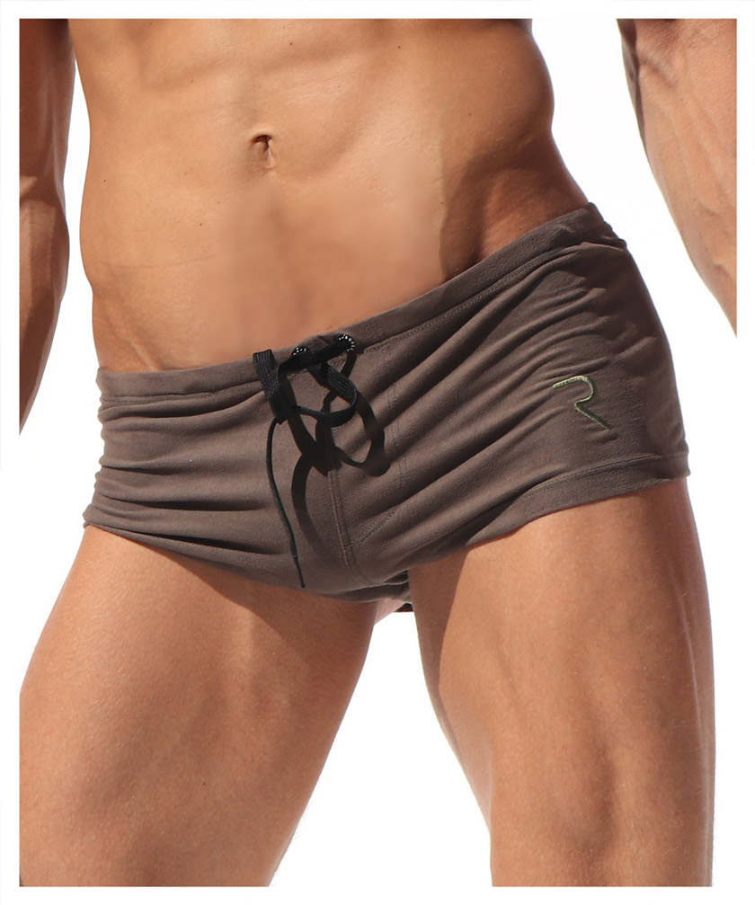 RufSkin (rough skin) JUDE suede finish short length men short pants inseam one minute length men fashion