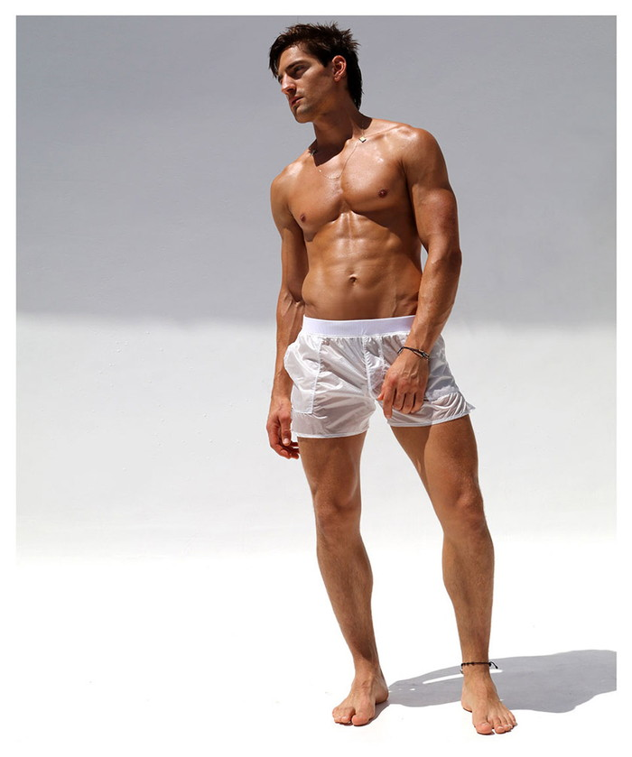 f207c3dca9 RufSkin (rough skin) men's fashion NUAGE 2/ see-through swimwear cover !