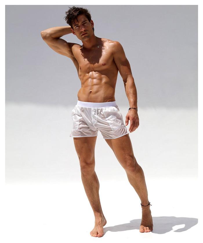 d75fd9b70b RufSkin (rough skin) men's fashion NUAGE 2/ see-through swimwear cover