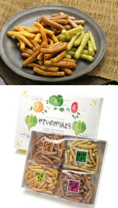 Perfect for your useless! Vegetable karinto 4 species set (60 g x 4pcs) fs2gm05P06may13