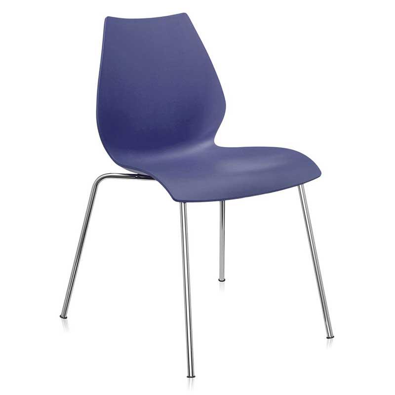 【Kartell カルテル 日本正規】 チェア 椅子 ダイニングチェア マウイ シンプル インテリア 2870 ネイビーブルー MAUI イタリア デザイナーズ 家具 スタッキング