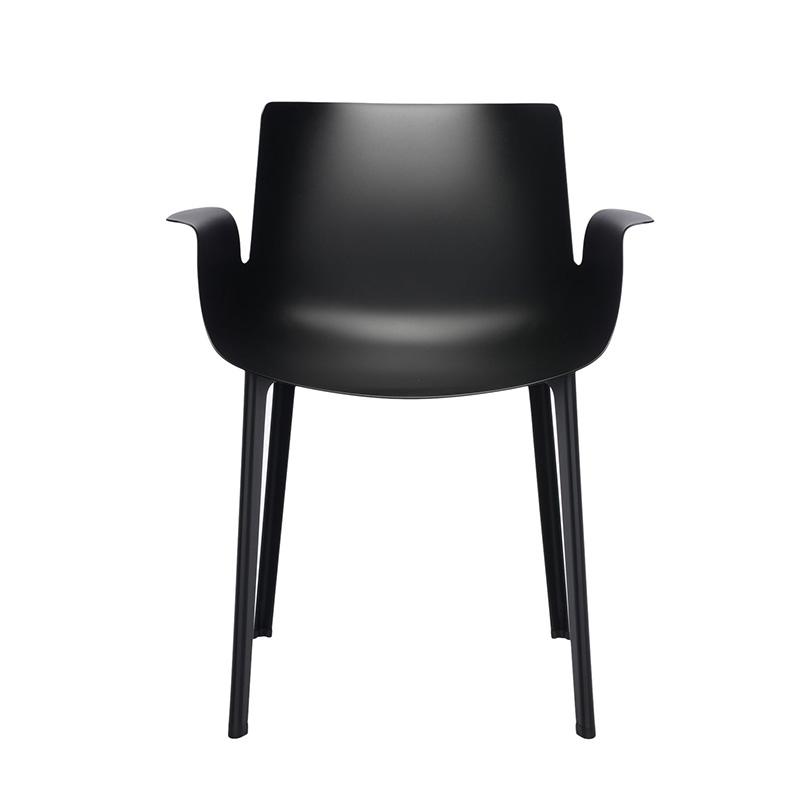 【Kartell カルテル 日本正規】 チェア 椅子 ダイニングチェア ピウマ カジュアル インテリア 5802 ブラック  PIUMA イタリア デザイナーズ 家具 ピエロ・リッソーニ 軽量
