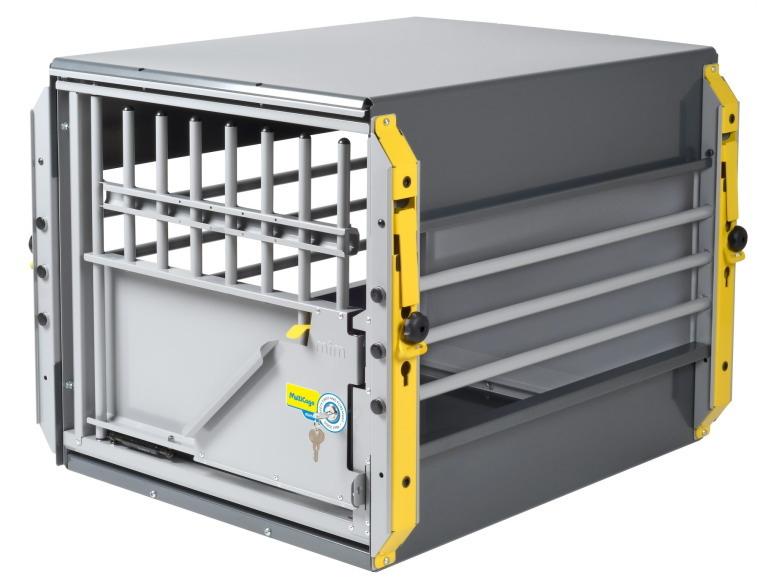 【送料無料】【ミニバン用ドッグケージ】スウェーデン・MIM SAFEの安全性が高いドッグケージMulticage