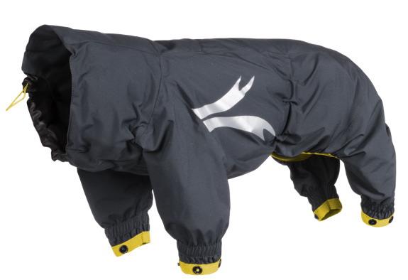【Hurtta】【フルッタ】・ドッグレインコート 「Hurtta Slush Combat suit スラッシュコンバットスーツ」中~大型犬用
