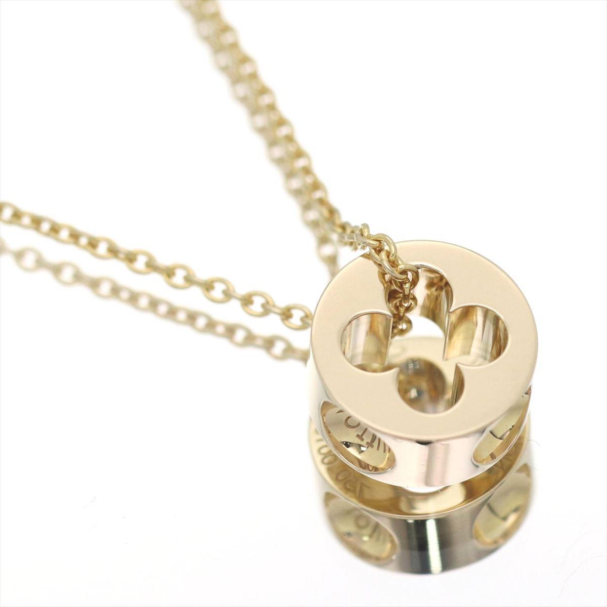 75a660827147 karyon  Louis Vuitton pandantif empreinte necklace K18YG750 yellow ...