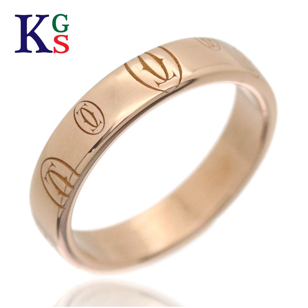 【ギフト品質】【名入れ】カルティエ/Cartier リング 指輪 レディース ピンクゴールド / ハッピーバースデー ロゴリング K18PG / ジュエリー Happybirthday カルチェ B4051100
