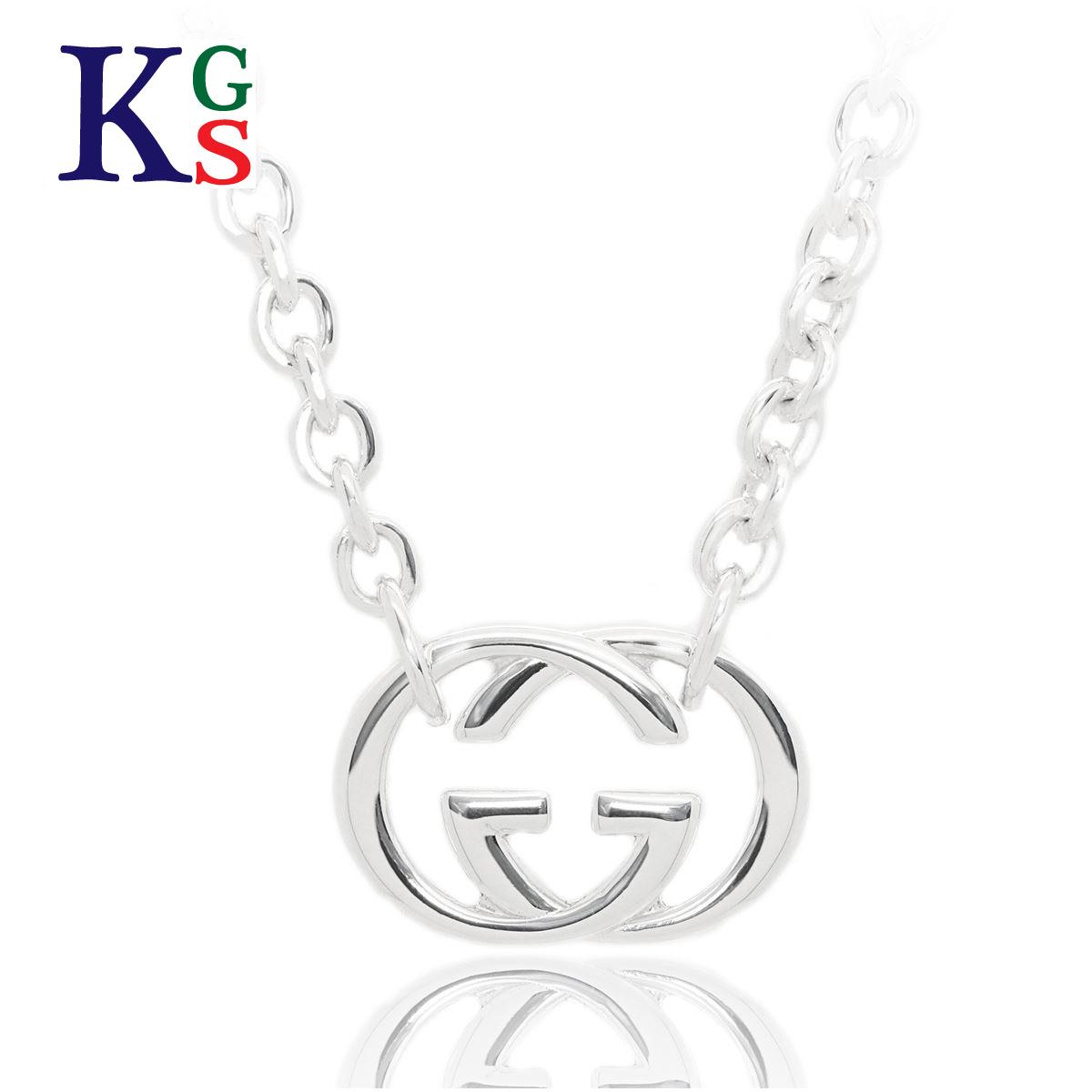 Gucci /GUCCI pendant Lady\u0027s GG necklace silver Bullitt sterling silver  SV925 190489 JJ8400 8106