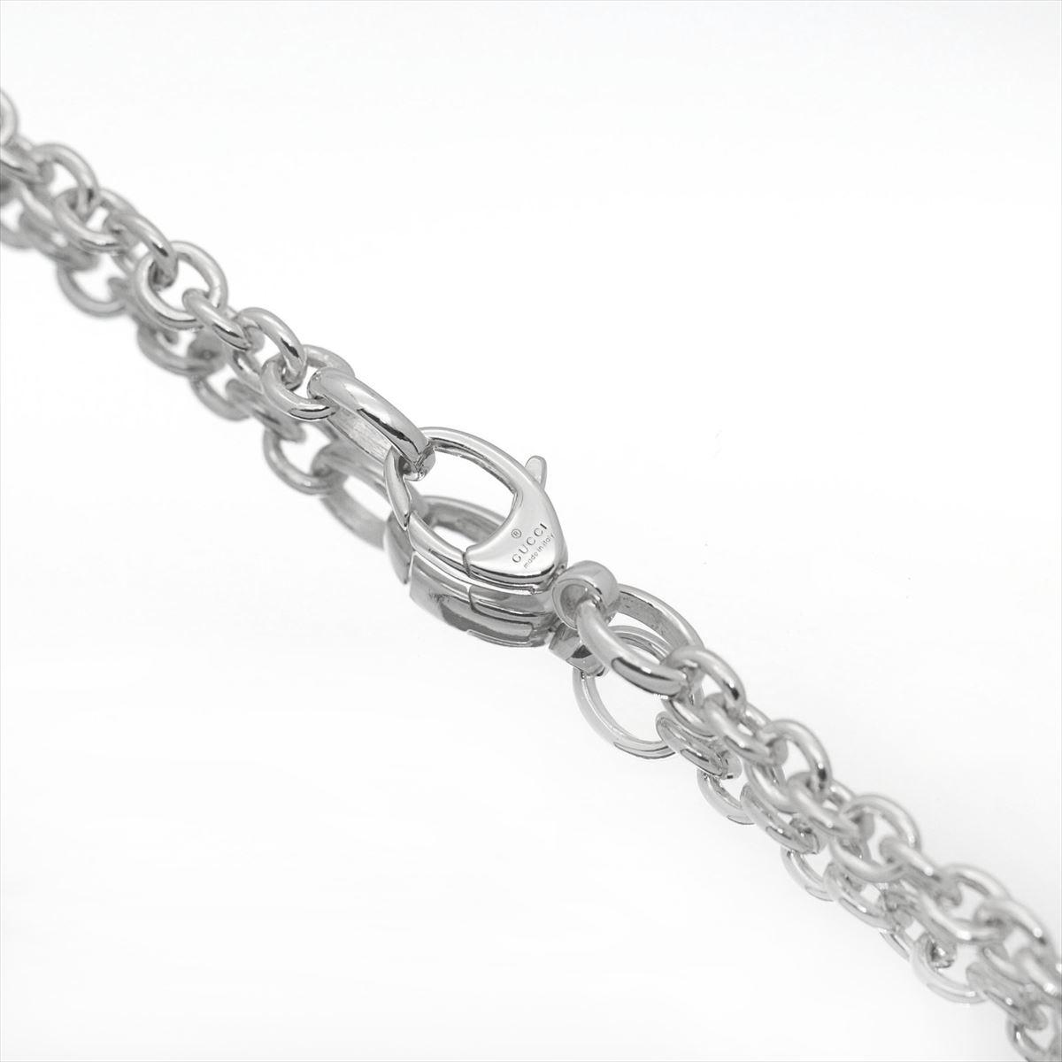 4c6dcdffd69e karyon  Gucci  GUCCI pair necklace GG necklace silver Bullitt ...