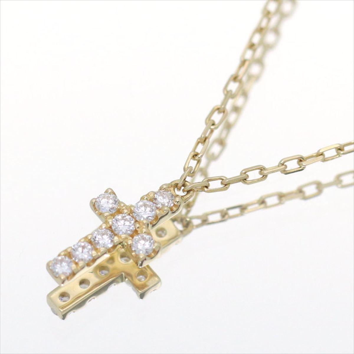 Karyon rakuten global market ahkah amp karyon rakuten global market ahkah amp one point diagram necklace ladys k18yg yellow gold diamond approximately 40cm length ccuart Choice Image
