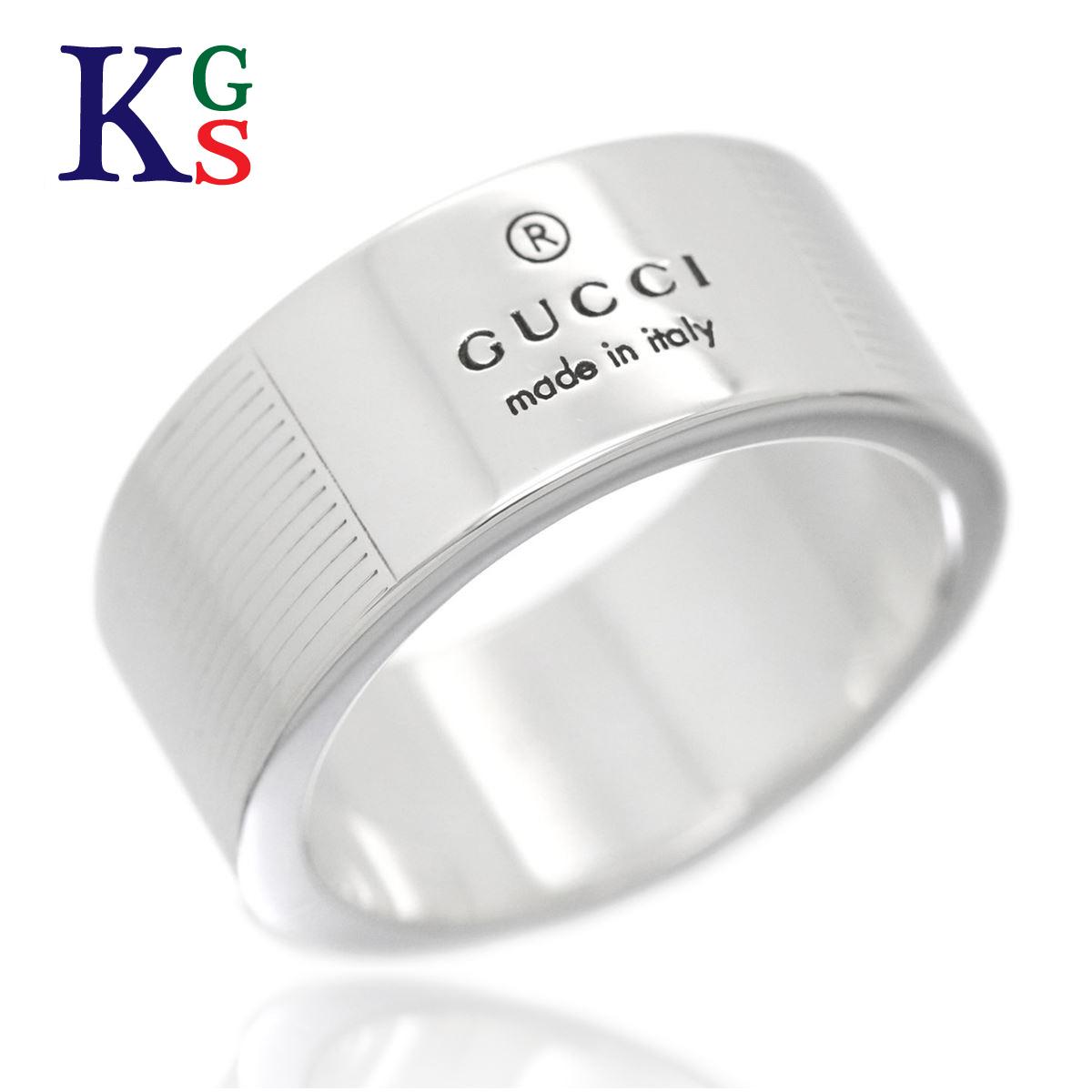 【ギフト品質】【11号】グッチ/GUCCI / ロゴリング レディース メンズ 指輪 Ag925 シルバー