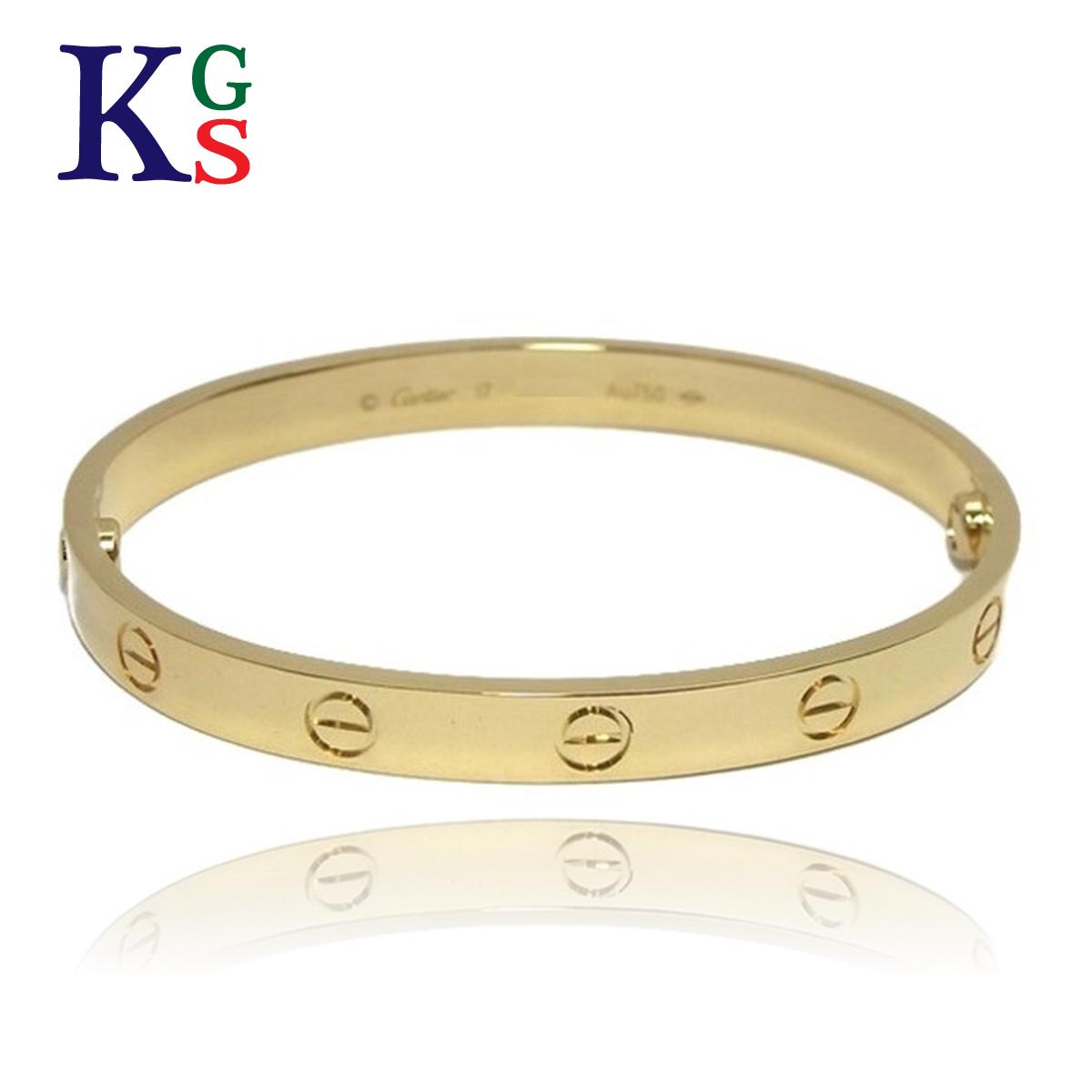 karyon Cartier /Cartier / bracelet unisex gold / love breath / K18YG 750  yellow gold