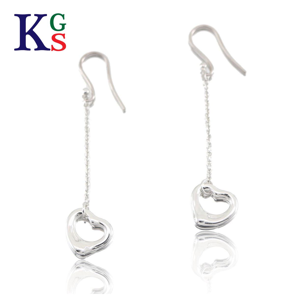 353d4b60d6b karyon  Tiffany  Tiffany amp co Lady s jewelry Elsa ペレッティオープンハートドロップピアスシルバー  Ag925
