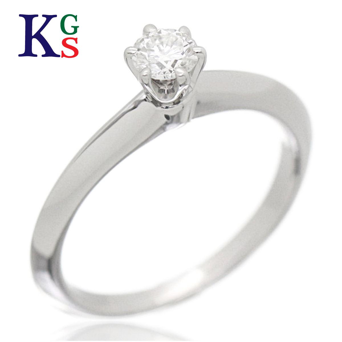【ギフト品質】【名入れ】【3号-18号】【0.18ct】ティファニー/Tiffany&Co エンゲージリング/婚約指輪 ソリティアリング 1Pダイヤ / レディース ジュエリー 指輪 / プラチナ Pt950 / 立爪タイプ