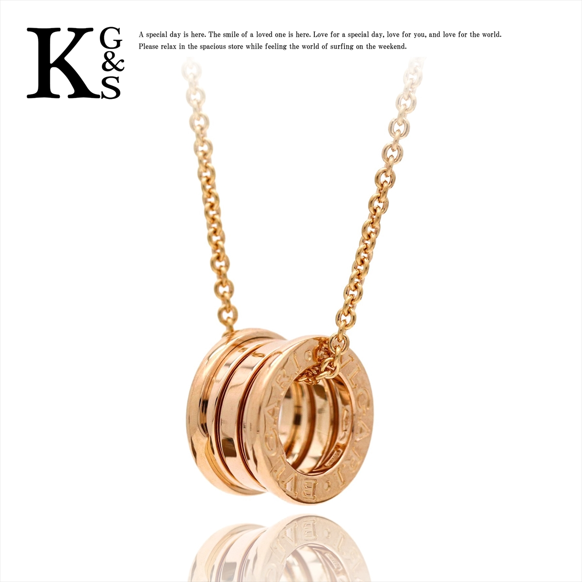 8ca76924 karyon: Bulgari /BVLGARI B.zero1 B zero one pendant / Lady's jewelry  necklace / K18PG pink gold / chain 38-45cm / 335924 CL852407 | Rakuten  Global Market