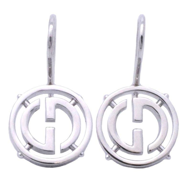 953602f2d6c karyon  Gucci  GUCCI Lady s jewelry G logo drop pierced earrings ...