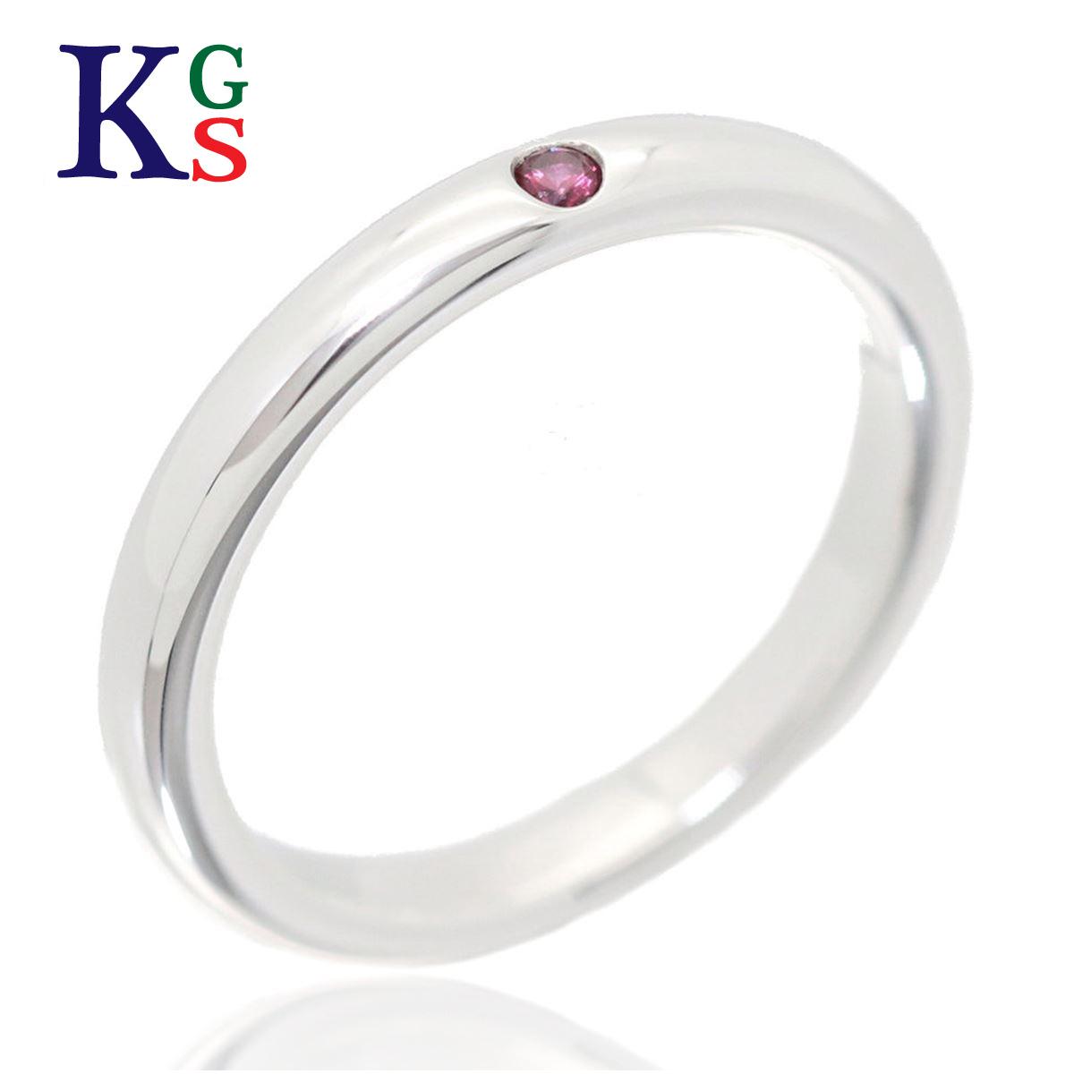 【ギフト品質】【名入れ】【4号-23号】ティファニー/Tiffany&Co / スタッキング バンドリング ワンポイント レディース ジュエリー / 1Pピンクサファイヤ 指輪 Ag925