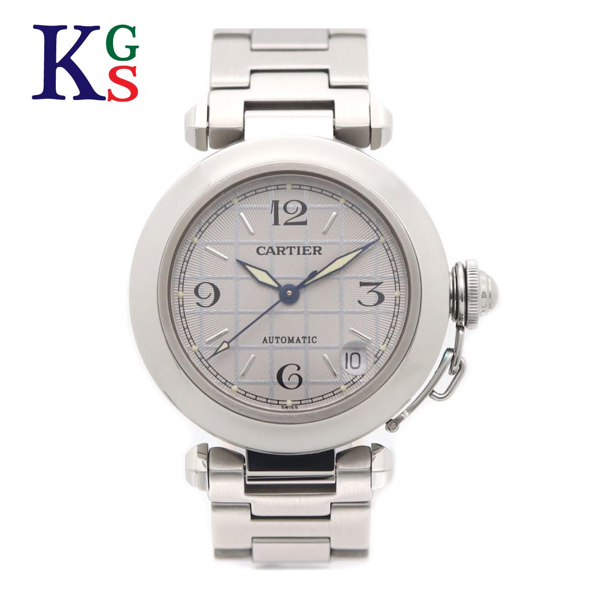 【ギフト品質】カルティエ/Cartier レディース 腕時計 パシャC シルバー× シルバー文字盤 ステンレススチール W31023M7【02】