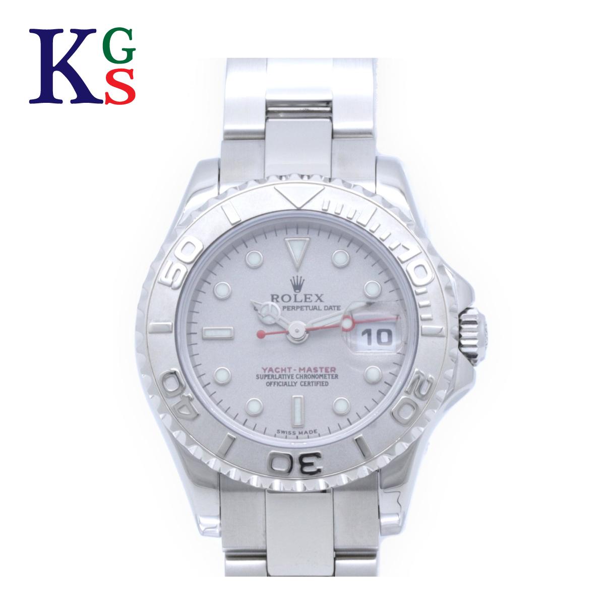 【ギフト品質】ロレックス/ROLEX レディース 腕時計 ヨットマスター ロレジムウ シルバー Pt(プラチナ)×SS 自動巻き 169622