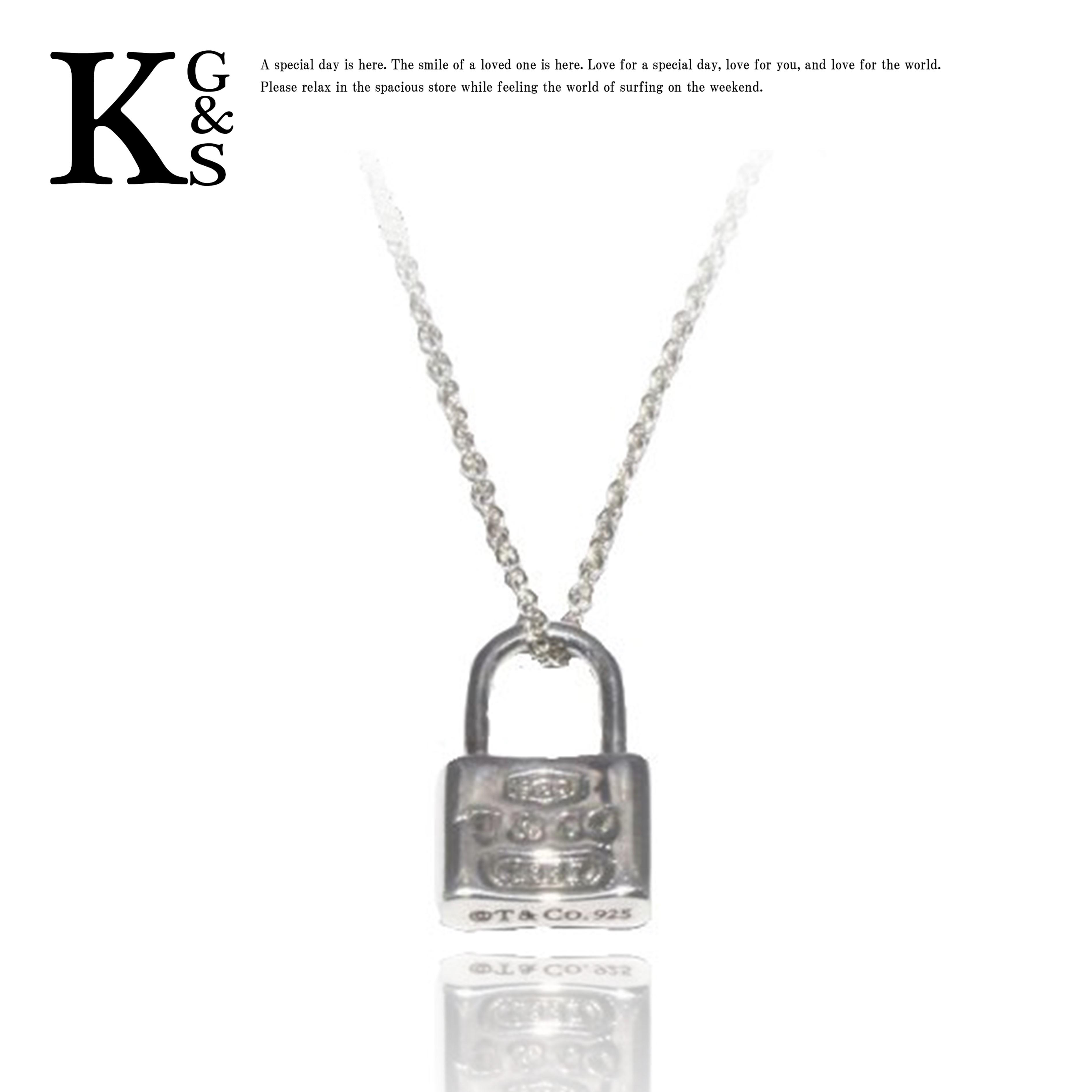【ギフト品質】ティファニー/Tiffany&co レディース ジュエリー 1837 ミニ ロックチャーム ネックレス Ag925