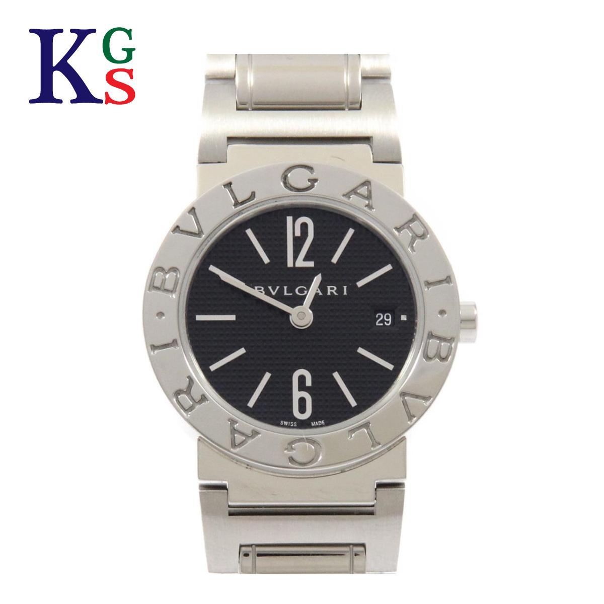 【ギフト品質】ブルガリ/BVLGARI レディース 腕時計 BVLGARI×BVLGARI BBL26S SS ステンレススチール 黒文字盤 クオーツ