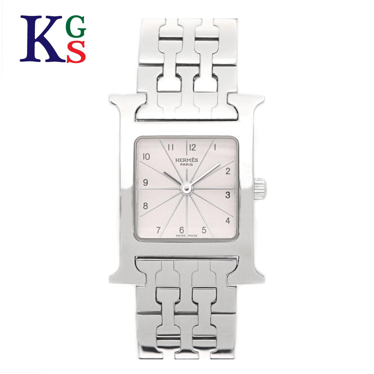 【ギフト品質】エルメス/Hermes Hウォッチ レディース 腕時計 クオーツ ステンレススチール シルバー文字盤 HH1.210