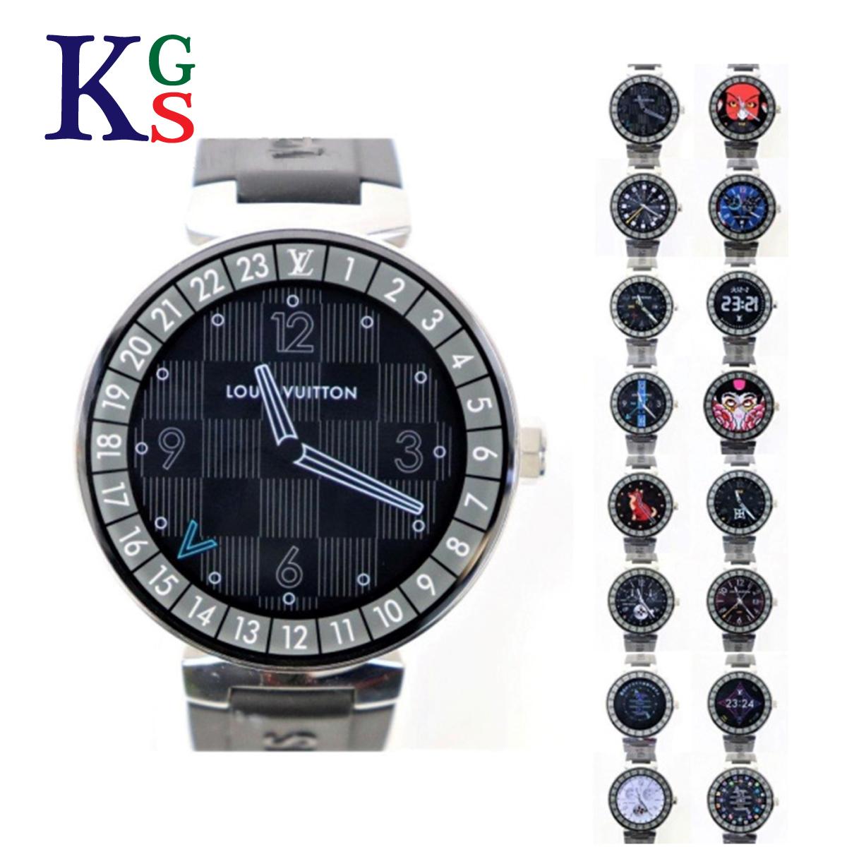 【ギフト品質】ルイヴィトン/Louis Vuitton タンブール ホライゾン スマートウォッチ 腕時計 メンズ SS QA004Z 1227
