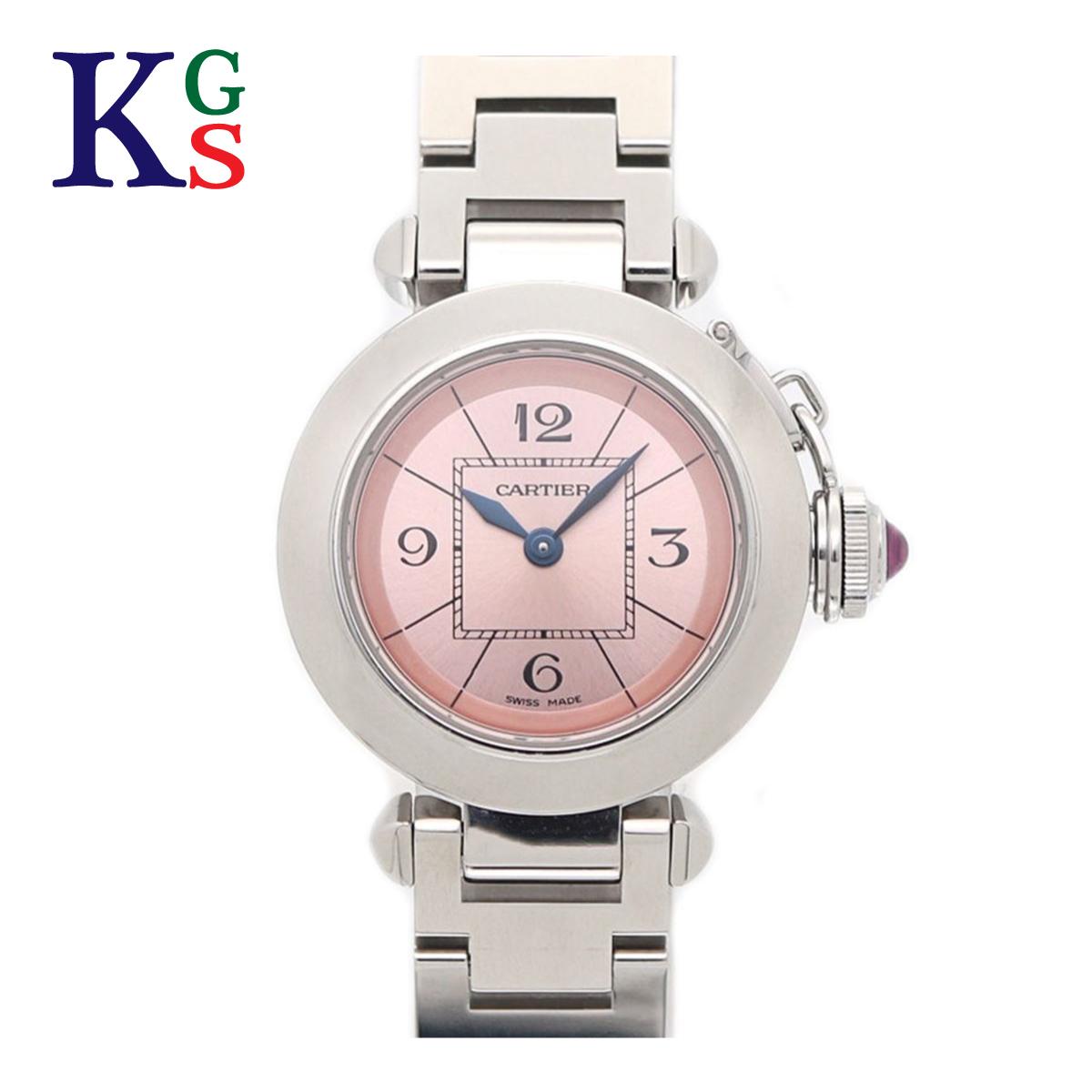 【ギフト品質】カルティエ/Cartier レディース 腕時計 ミスパシャ 日本限定モデル ピンク文字盤 クオーツ 2973 W3140008