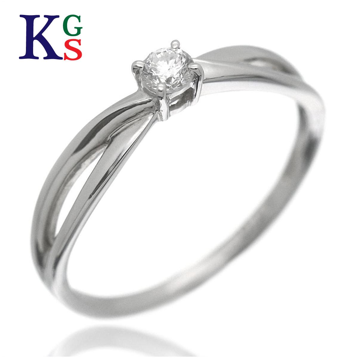 【ギフト品質】【名入れ】【0.12ct】エル/ELLE レディース エンゲージリング 婚約指輪 1Pダイヤ Pt950 プラチナ