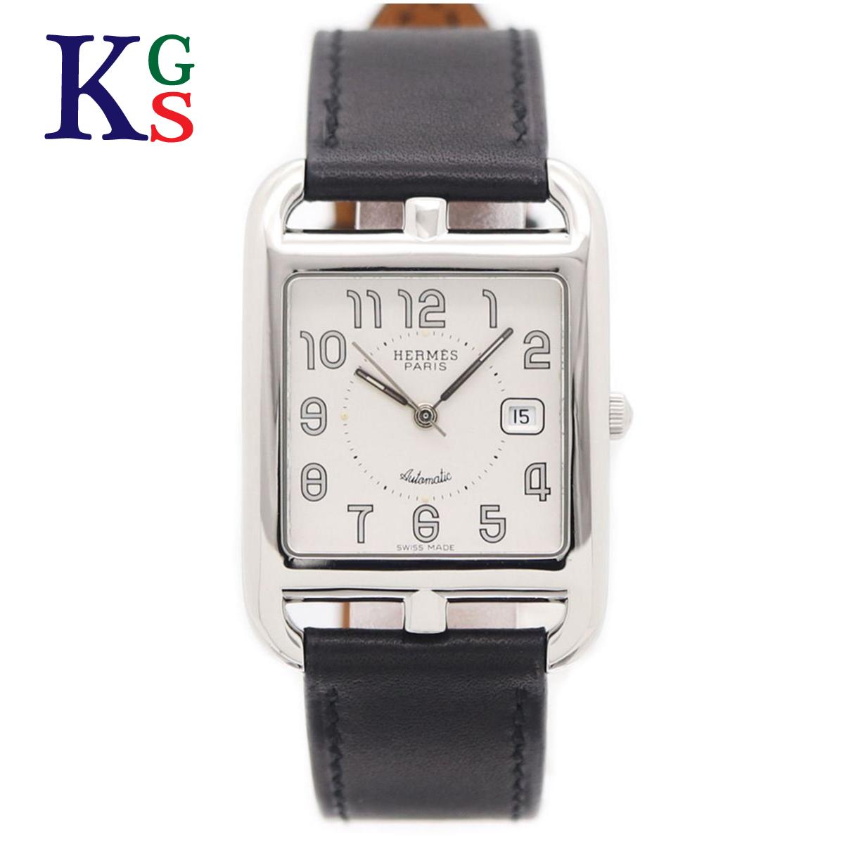 【ギフト品質】エルメス/Hermes メンズ 腕時計 ケープコッドGM ホワイト文字盤 革ベルト AT 自動巻き CC1.710