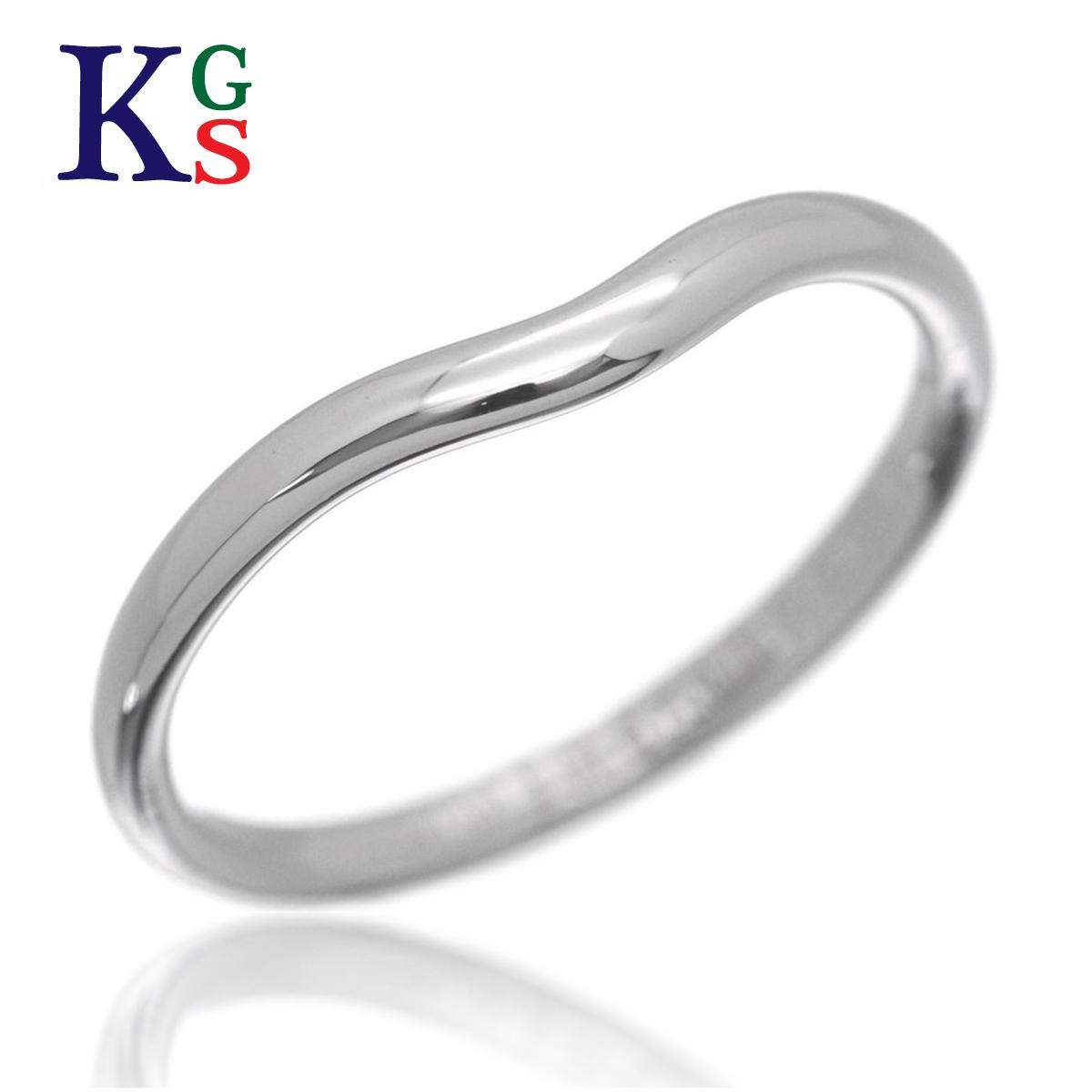 【ギフト品質】【名入れ】【4号~23号】ティファニー/Tiffany&co レディース メンズ ジュエリー リング/指輪 カーブド バンドリング 指輪 Pt950 プラチナ