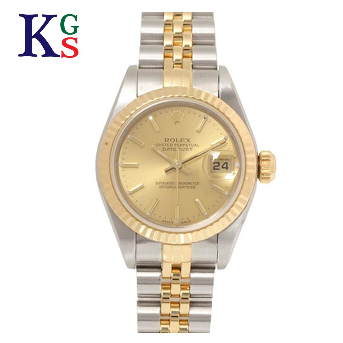 【ギフト品質】ロレックス/ROLEX レディース 腕時計 デイトジャスト 79173 オートマチック 自動巻き K18YG×SS