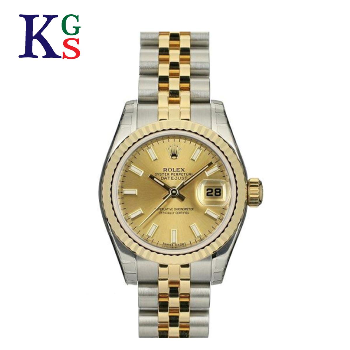 【ギフト品質】ロレックス/ROLEX レディース 腕時計 デイトジャスト K18YG×ステンレススチール イエローゴールド 自動巻き オートマチック 179173