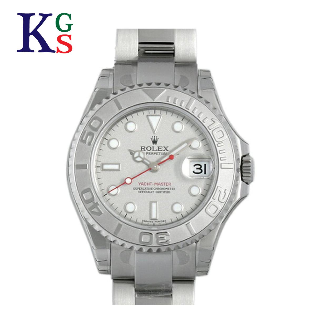 【ギフト品質】ロレックス/ROLEX レディース ボーイズ 腕時計 ヨットマスター ロレジウム Pt×SS プラチナベゼル 168622