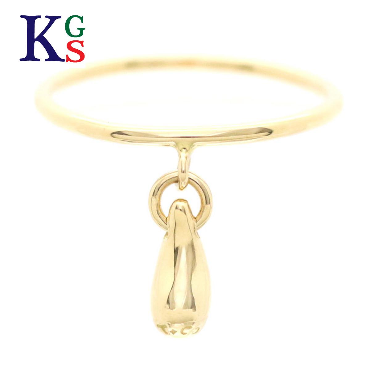 【ギフト品質】【名入れ】【4号~16号】ティファニー/Tiffany&co レディース ティアドロップ リング 指輪 K18YG イエローゴールド