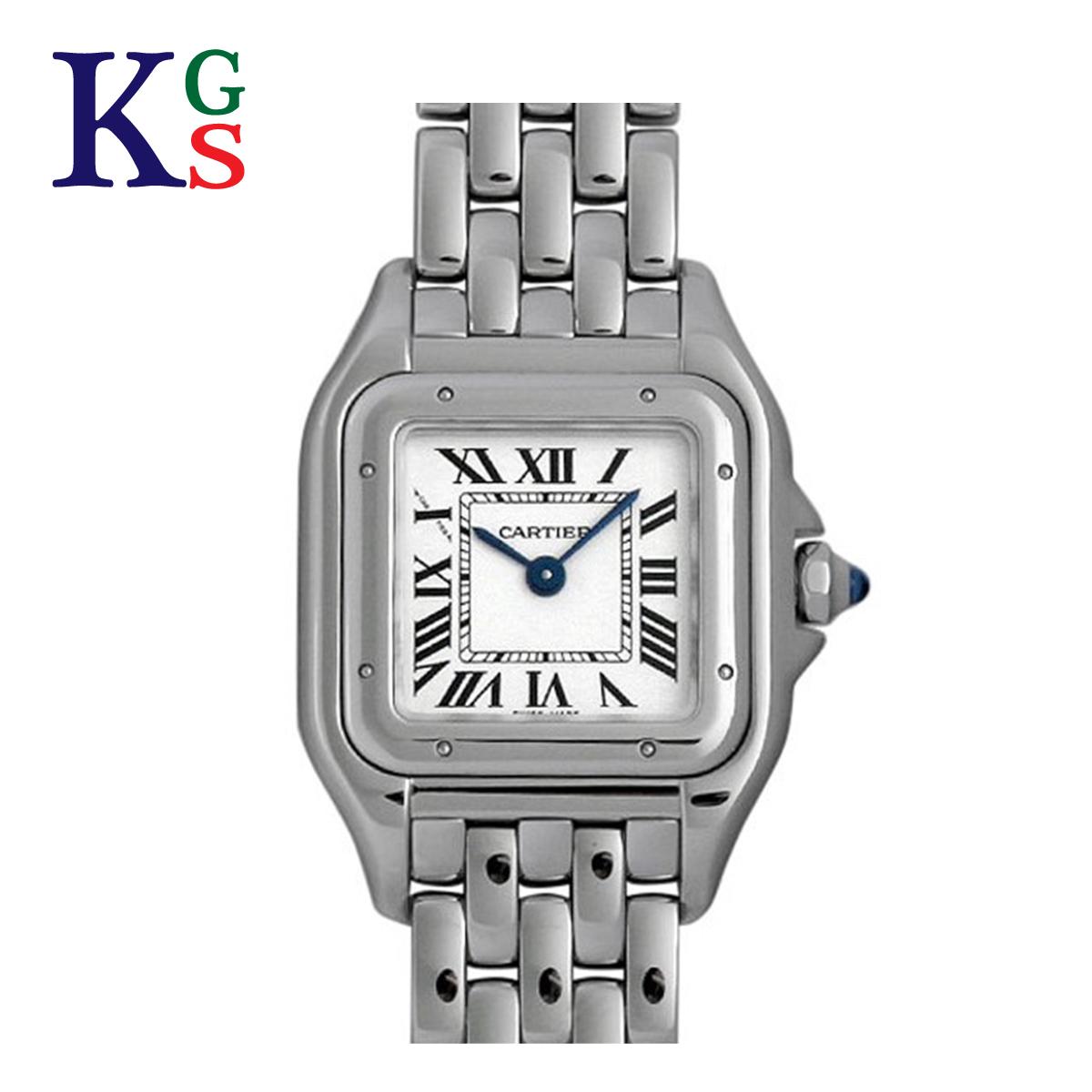 【ギフト品質】カルティエ/Cartier レディース 腕時計 パンテールSM ステンレススチール シルバー クオーツ WSPN0006