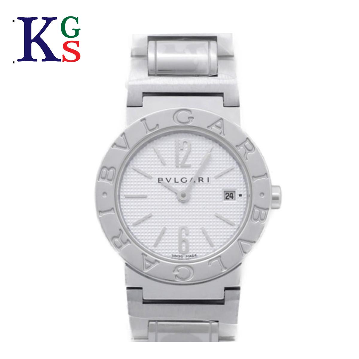 【ギフト品質】ブルガリ/BVLGARI レディース 腕時計 BVLGARI×BVLGARI BBL26S SS ステンレススチール 白文字盤 クオーツ