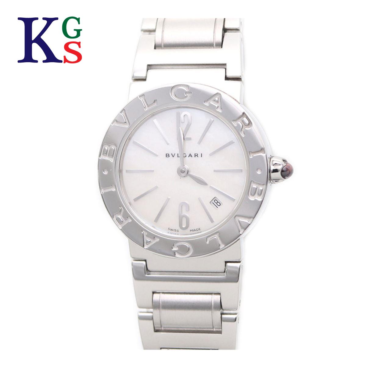 【ギフト品質】ブルガリ/BVLGARI レディース 腕時計 BVLGARI×BVLGARI 101885 BBL26WSSD シェル文字盤×SS ステンレススチール 白文字盤 クオーツ