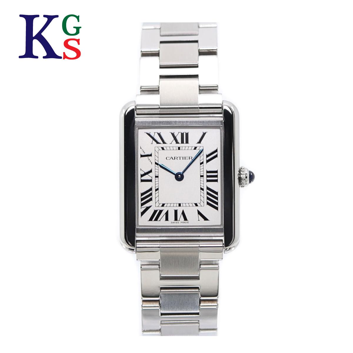 【ギフト品質】カルティエ/Cartier レディース 腕時計 タンクソロSM シルバー ステンレススチール ホワイト文字盤 クオーツ 電池式 W5200013