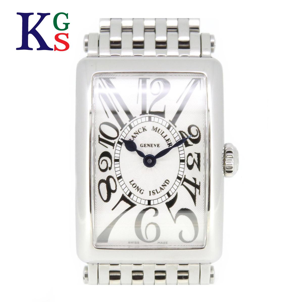【ギフト品質】フランクミュラー/FRANCK MULLER レディース腕時計 ロングアイランド シルバー文字盤 ステンレススチール クオーツ 902QZ